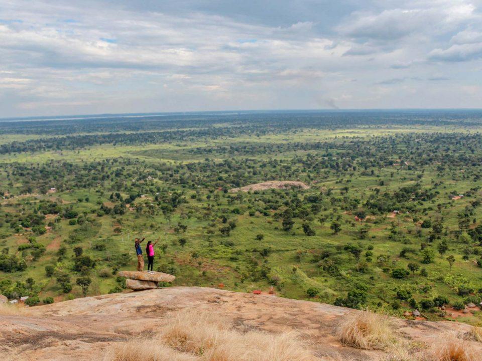 Kagulu Rock climbing challenge