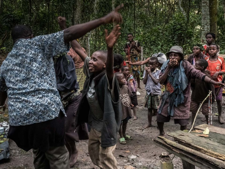 Batwa community visits in Bwindi