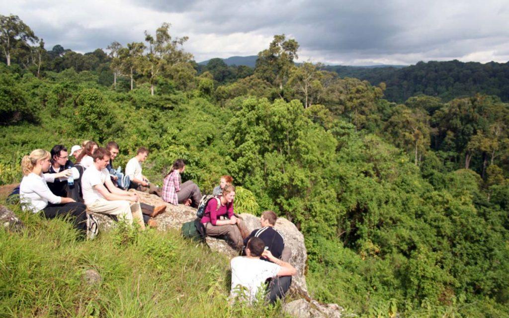 Hiking to Mount Elgon National Park in Uganda