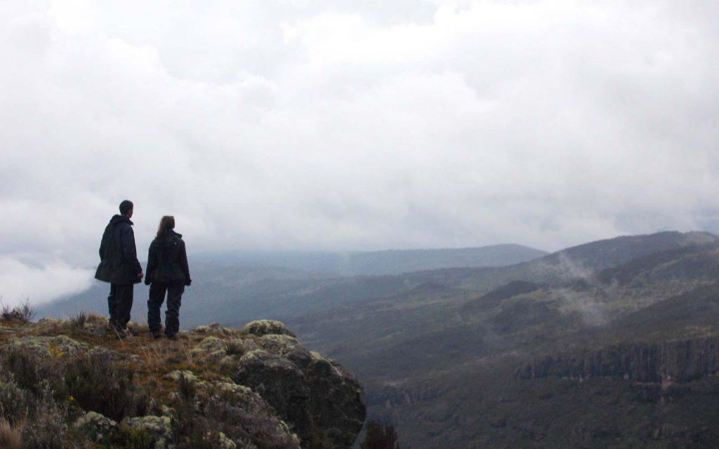 Mountain climbing mount elgon uganda