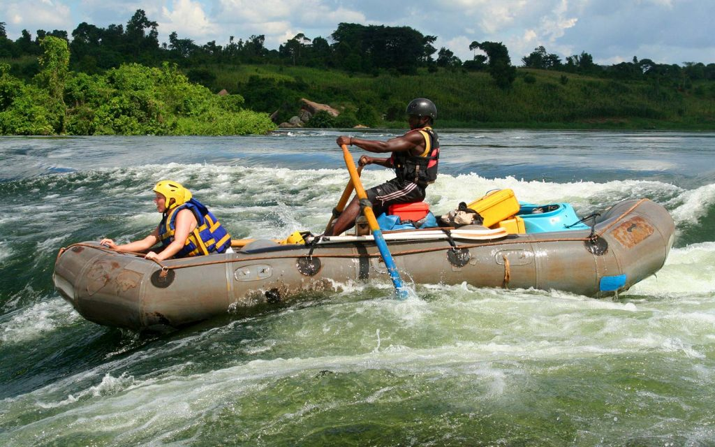 Whitewater Rafting at Source of Nile River in Jinja