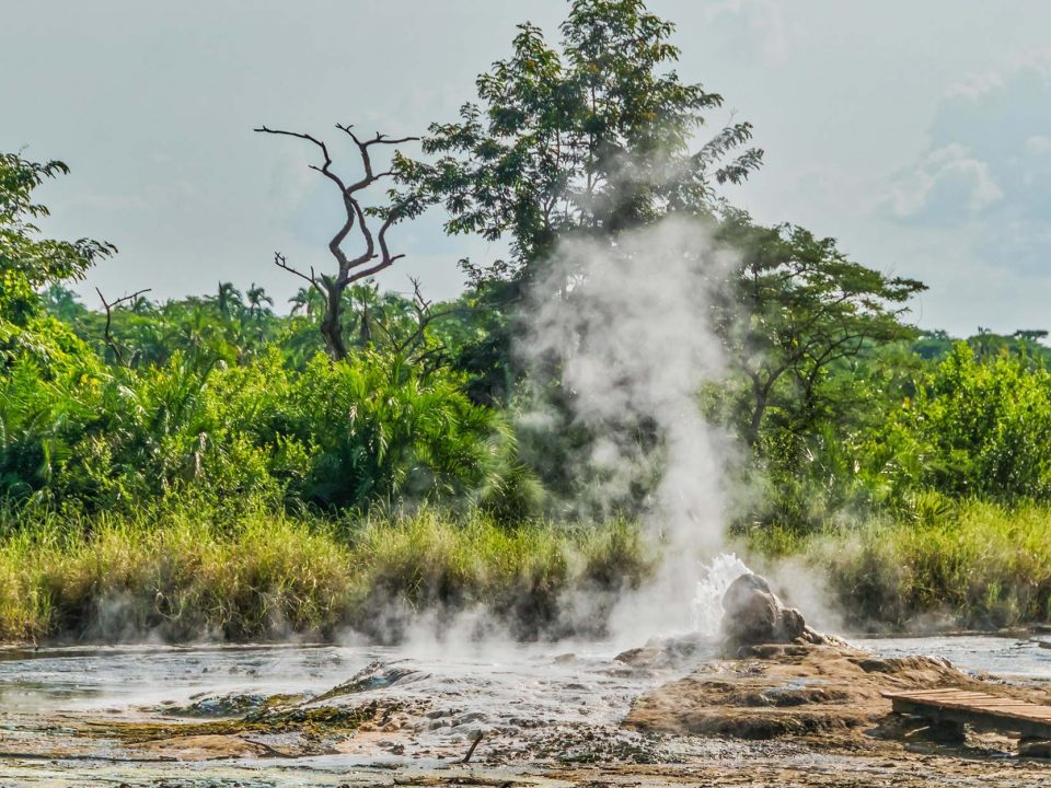 Semliki National Park Hot Springs in Uganda
