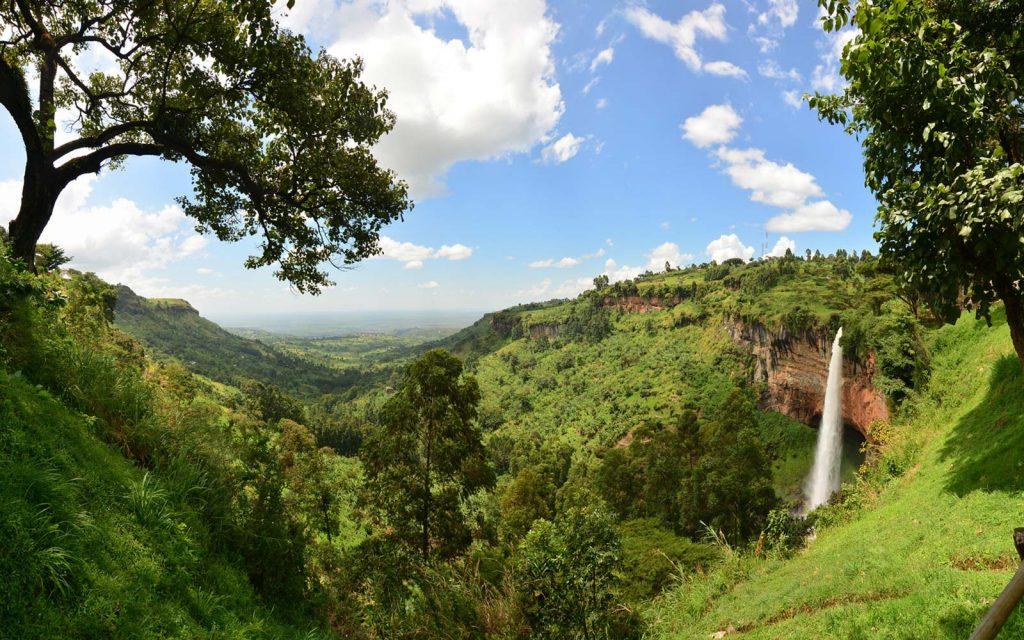 Sipi Falls Mount Elgon National Park Hiking in Uganda