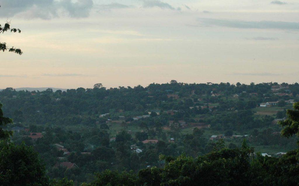 Kampala View Bhai Temple Uganda