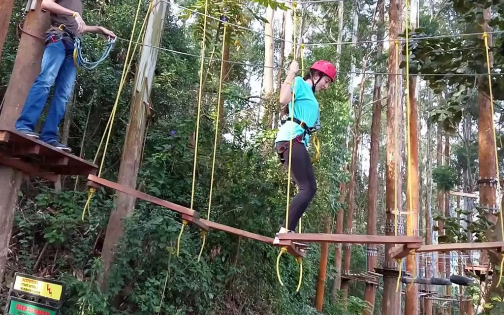 Games and Zip lining in Mabira forest