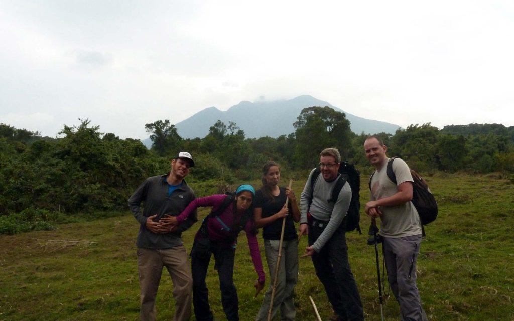 hiking mount sabinyo in uganda