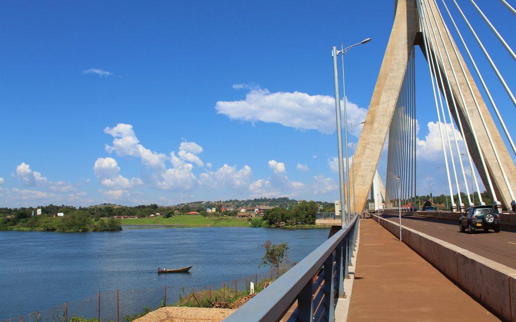 Jinja Nile Bridge, Source of nile river in Uganda