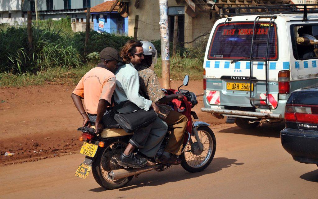 Tour kampala city on bike
