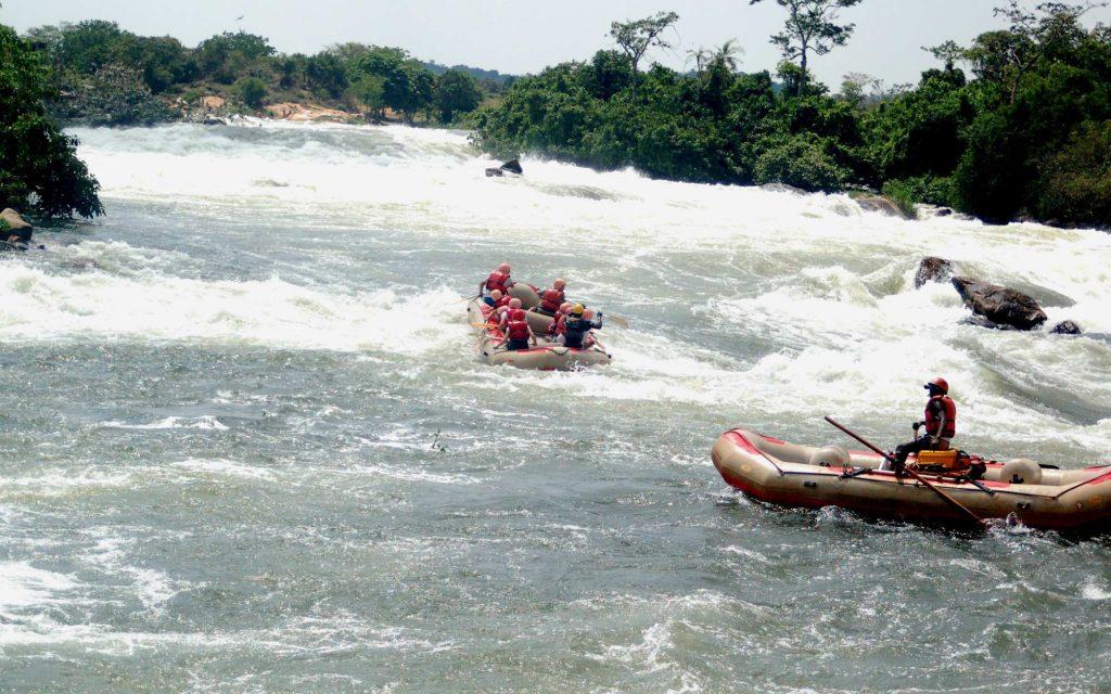 Grade 5 white water rafting uganda jinja