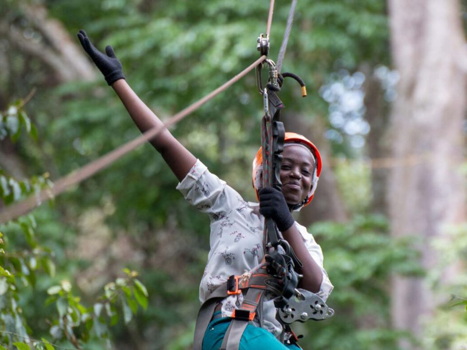 Mabira Forest zipline tour and birding safari